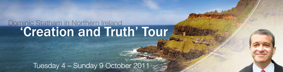 Creation not confusion ministry tour with Gary Bates