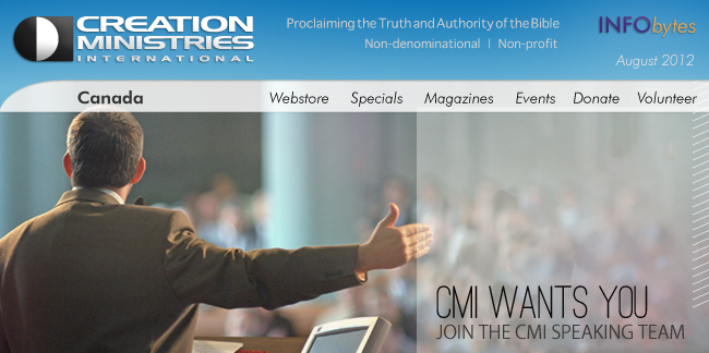 CREATION MINISTRIES INTERNATIONAL | Please wait for images to load